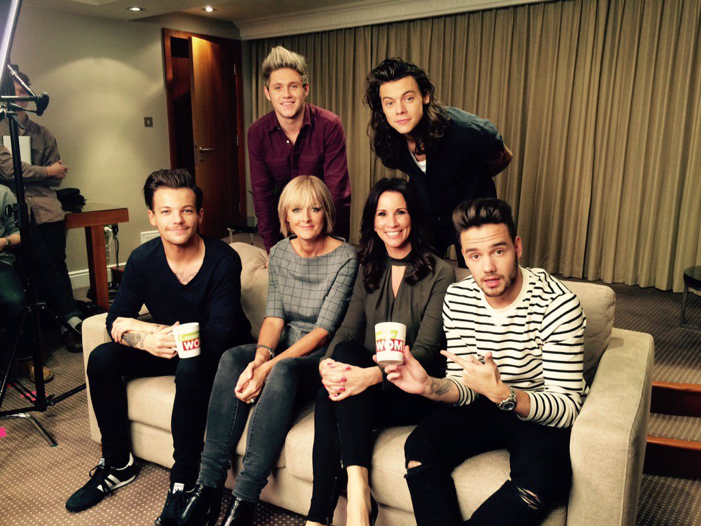 Look who we bumped into...  @NiallOfficial @Harry_Styles @Real_Liam_Payne @Louis_Tomlinson  @loosewomen