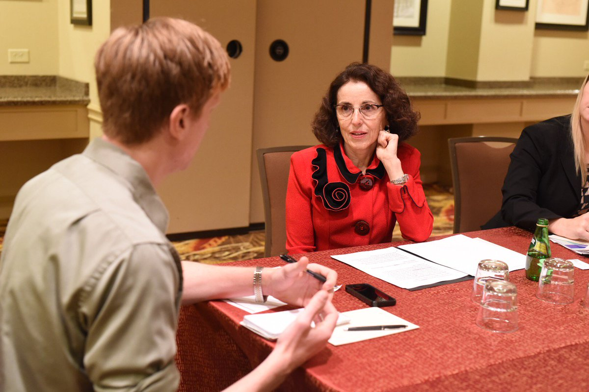 Dr. Córdova of @NSF talks with @Jmalewitz of @TexasTribune about energy storage at #TAMEST Texas Research Summit: https://t.co/xPMxuMXAhe