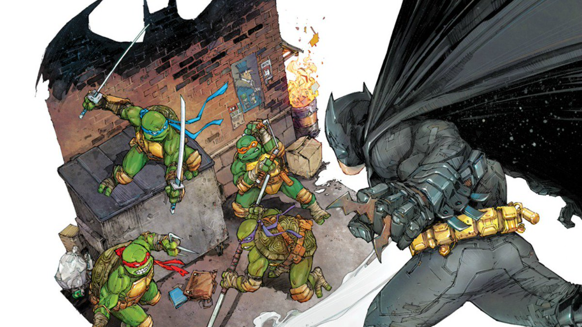 Exclusive Cover Reveals: #BatmanTMNT Retailer Variants  https://t.co/U6GUbhxElQ https://t.co/4hBXPl7WMk