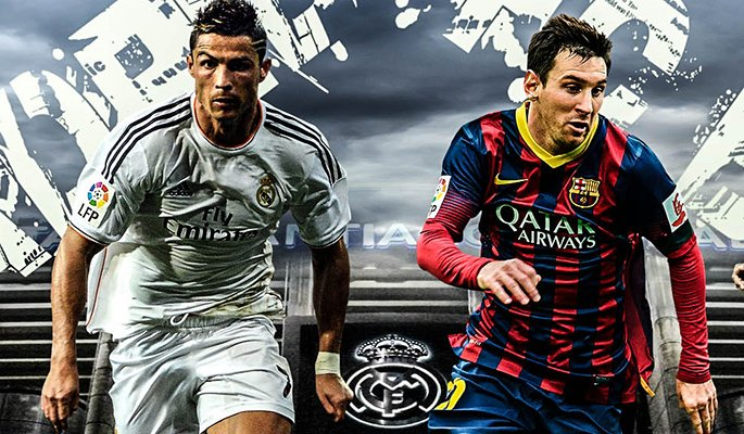 Cristiano Ronaldo vs Leo Messi Streaming Rojadirecta.