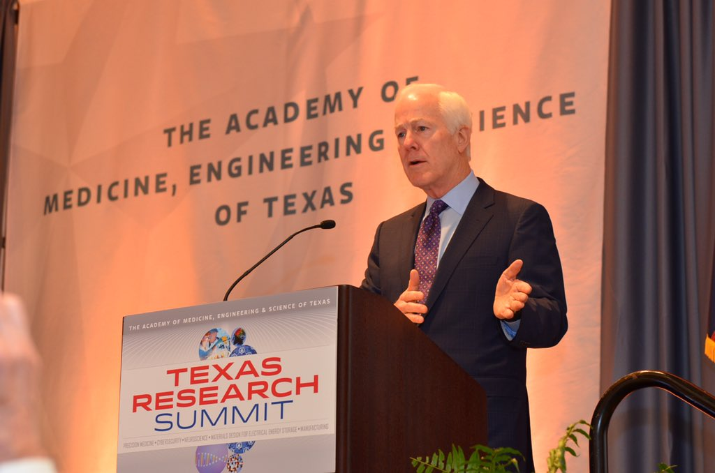 Honored to speak at #TAMEST on the importance of scientific research to a strong Texas economy https://t.co/YqY5FeytpC