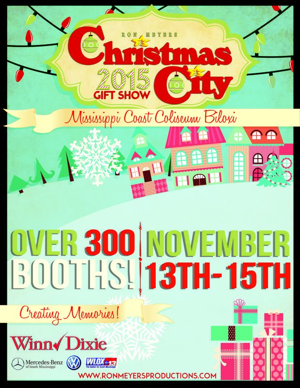 Coastal Mississippi On Twitter Tis The Season The Christmas City Gift Show Is Happening Now And All Weekend In Biloxi Https T Co 2j6clyga1i