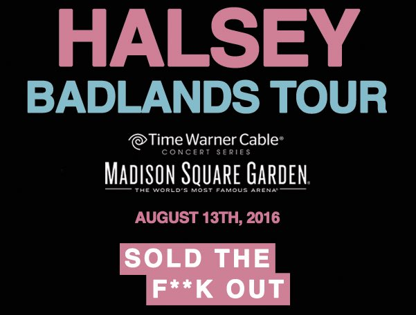 The Garden is SOLD OUT. 9 months in advance w/ no support announced yet. Unbelievable what a youth collective can do https://t.co/JXr9QU1lwI