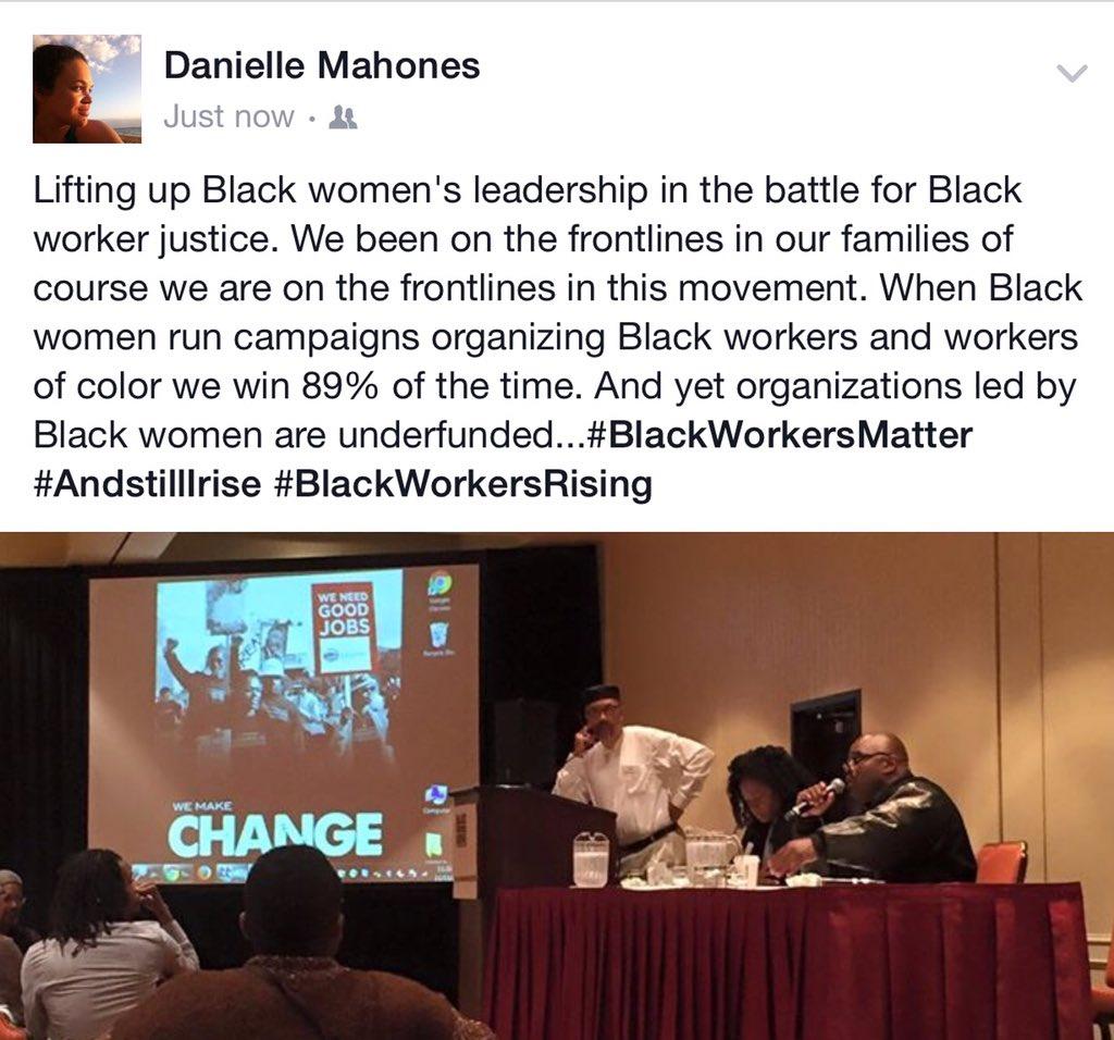 #BlackWorkersRising #BlackWomenRising https://t.co/tvuN0fVD8Y