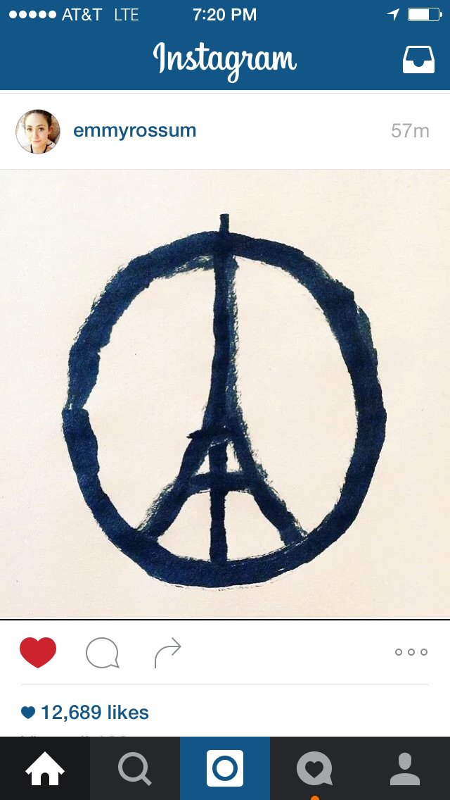 Our hearts go out to the people of Paris. https://t.co/o3EkitRt7N