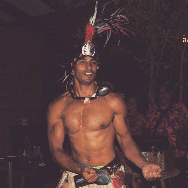 #CookIslands #busketlist Treat yourself to a dance with a local warrior at an island night!