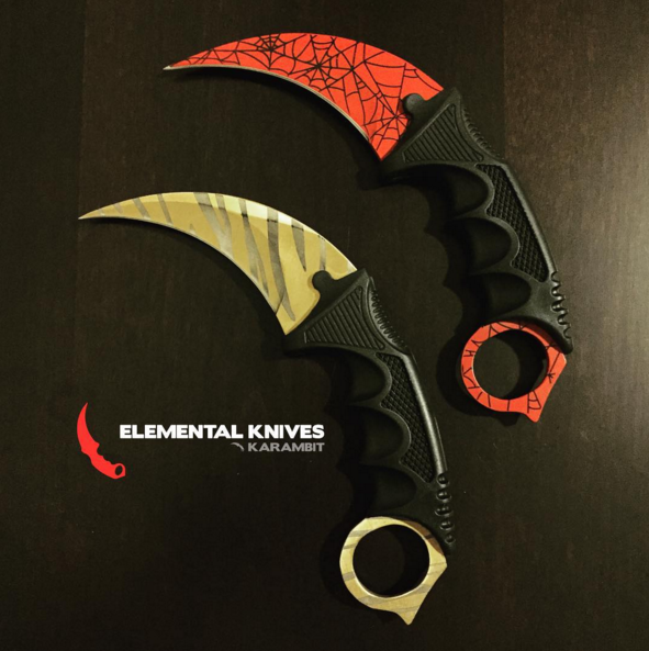 elemental knives on twitter which knife should we give away first