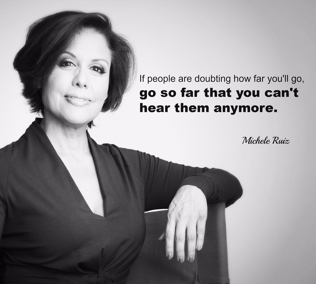 Michele Ruiz On Twitter If People Are Doubting How Far Youll Go