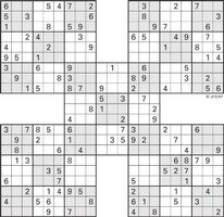 photo regarding Washington Post Sudoku Printable titled Printable Sudoku Higher-5 : Printable Sudoku SWFL The