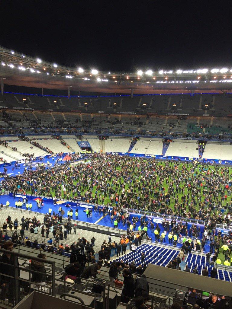 France - Allemagne : au Stade de France, de la fête à l