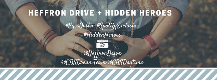 Tomorrow: Watch a NEW episode of @CBSHiddenHeroes AND catch the premiere of @HeffronDrive's #EyesOnYou music video!… https://t.co/H1nez9uWi5
