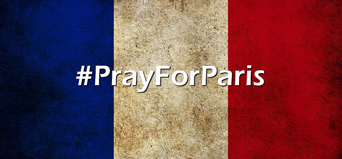 We stand with our friends and oldest allies in #Paris at this difficult time.  #PrayForParis! https://t.co/08GhdFMRP8