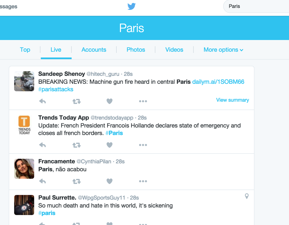 Reddit seems to be the best resource for #Paris right now compared to twitter & FB Signal. https://t.co/8TZbB24GbT https://t.co/K4pwz1hZ2p