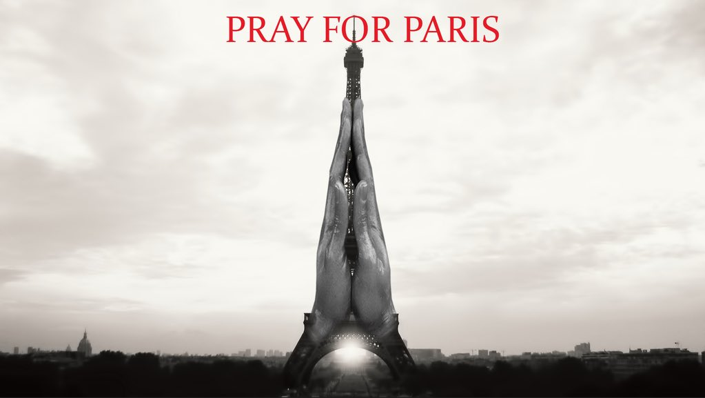 The World will unite. Paris will rebuild. Good always wins. May God heal humanity. #PrayForParis https://t.co/sayEfJ7IJI