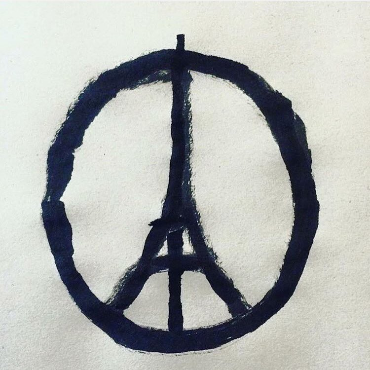 Our thoughts & prayers are with our brothers and sisters in Paris. #LoveToParis #PrayforParis https://t.co/WGMEp6OSr2