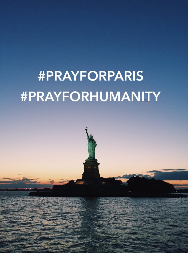To our friends in France, we stand with you #PrayForParis #PrayForHumanity #SJU https://t.co/lRmmVOWNMs
