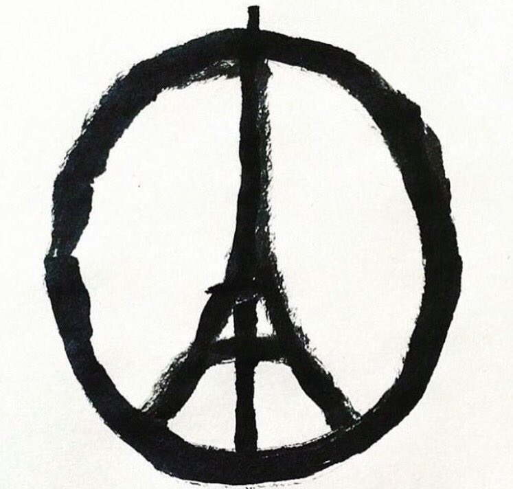 My heart feels heavy for Paris and Japan.