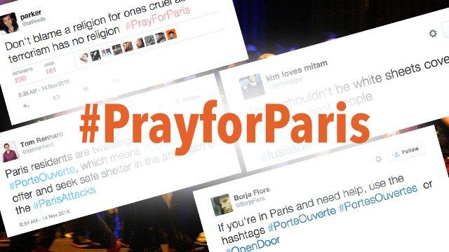#PrayForParis, #Fusillade trends on Twitter amid Paris attacks https://t.co/kzOUXSlqWg