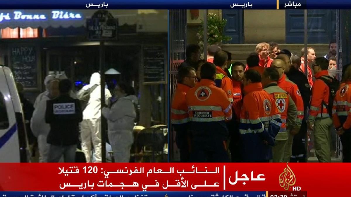 اخبار هجمات باريس اليوم السبت 14/11/2015