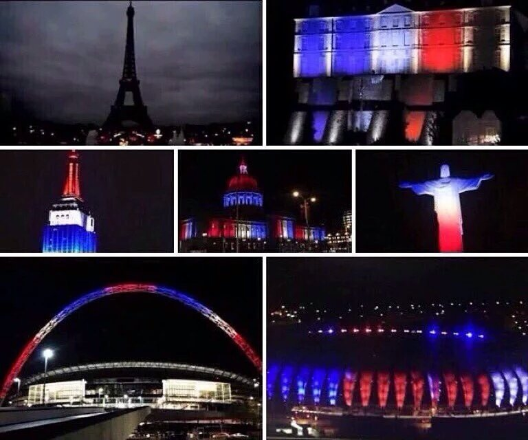 Nous sommes tous Parisiens! https://t.co/ZagsYUAur0