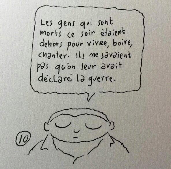 Le dessin de @joannsfar si juste. #ParisAttacks https://t.co/eejEpkJHPz