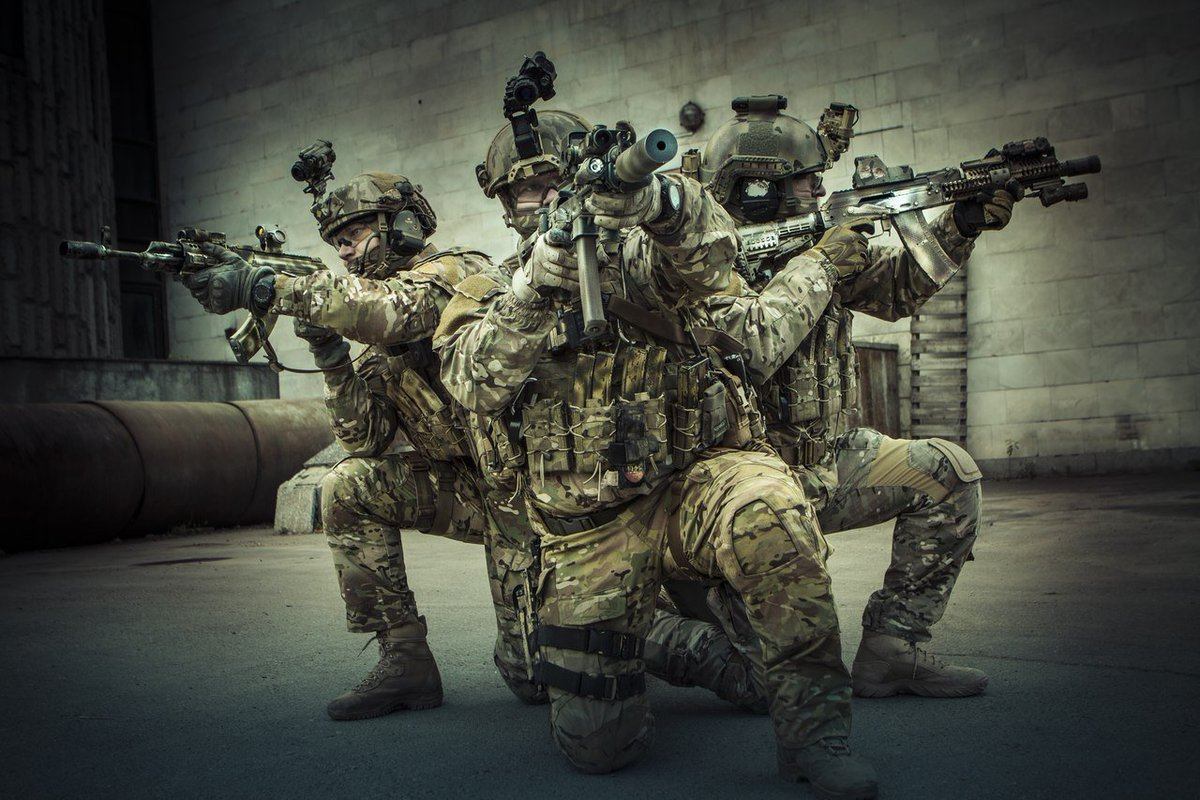 Зазеркалье экранного спецназа