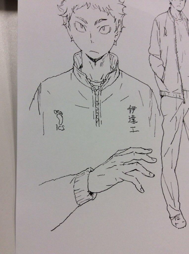 ハイキュー!!アニメ原画展 on Tw...
