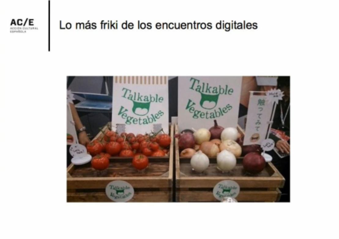 Tomates que hablan, de la mano de @javiercelaya #RRSSmuseos https://t.co/cRixFrei9E
