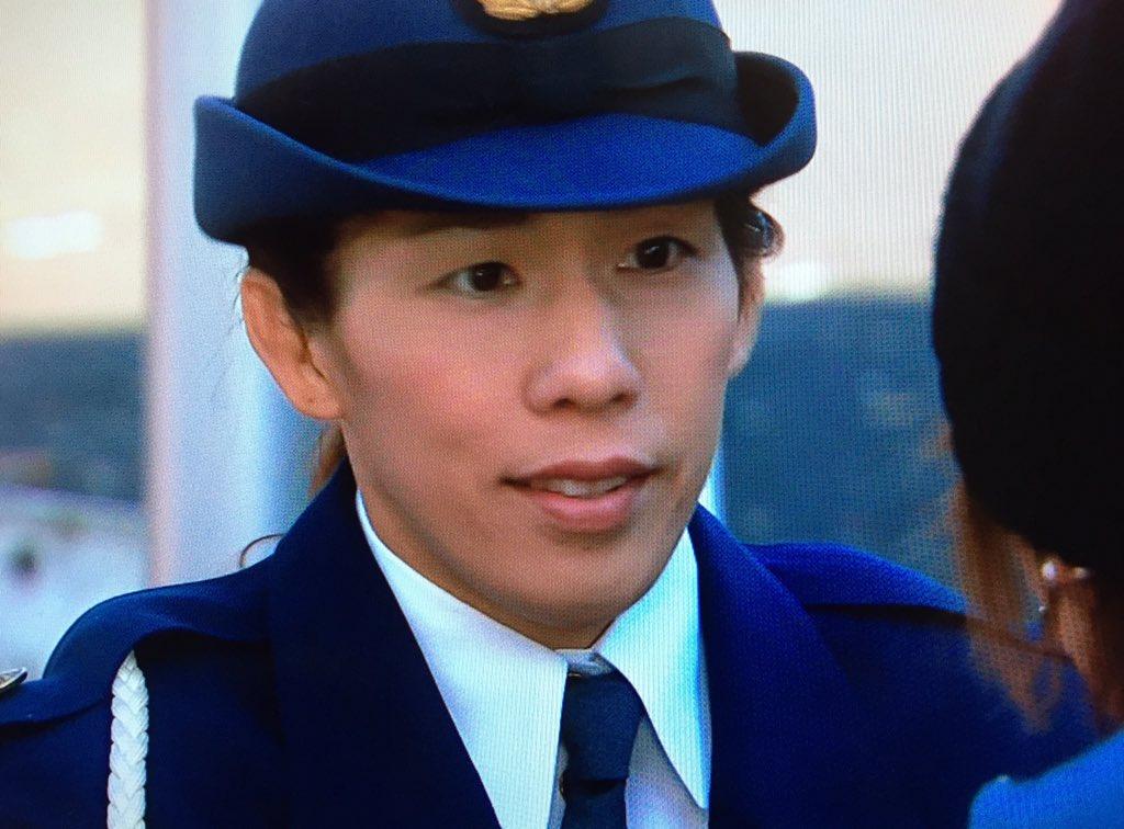 人類最強女子 吉田沙保里が警察官になっちゃた!
