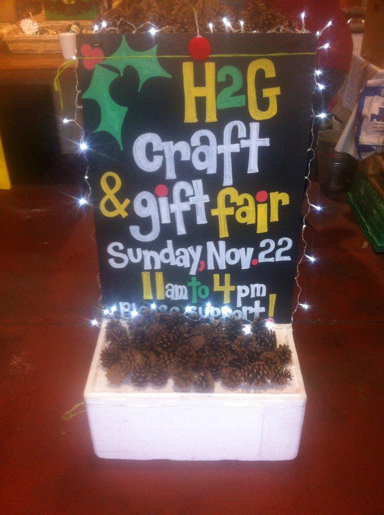 All RTs much appreciated to help spread the word! H2G Craft n Gift Fair SUN 22nd, 11-4 at H2G Market...No entry fee! https://t.co/11fZy1ynoK