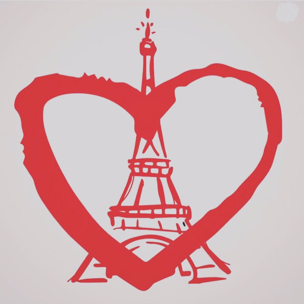 Love to Paris #PrayForParis https://t.co/L5mNkZeLAq
