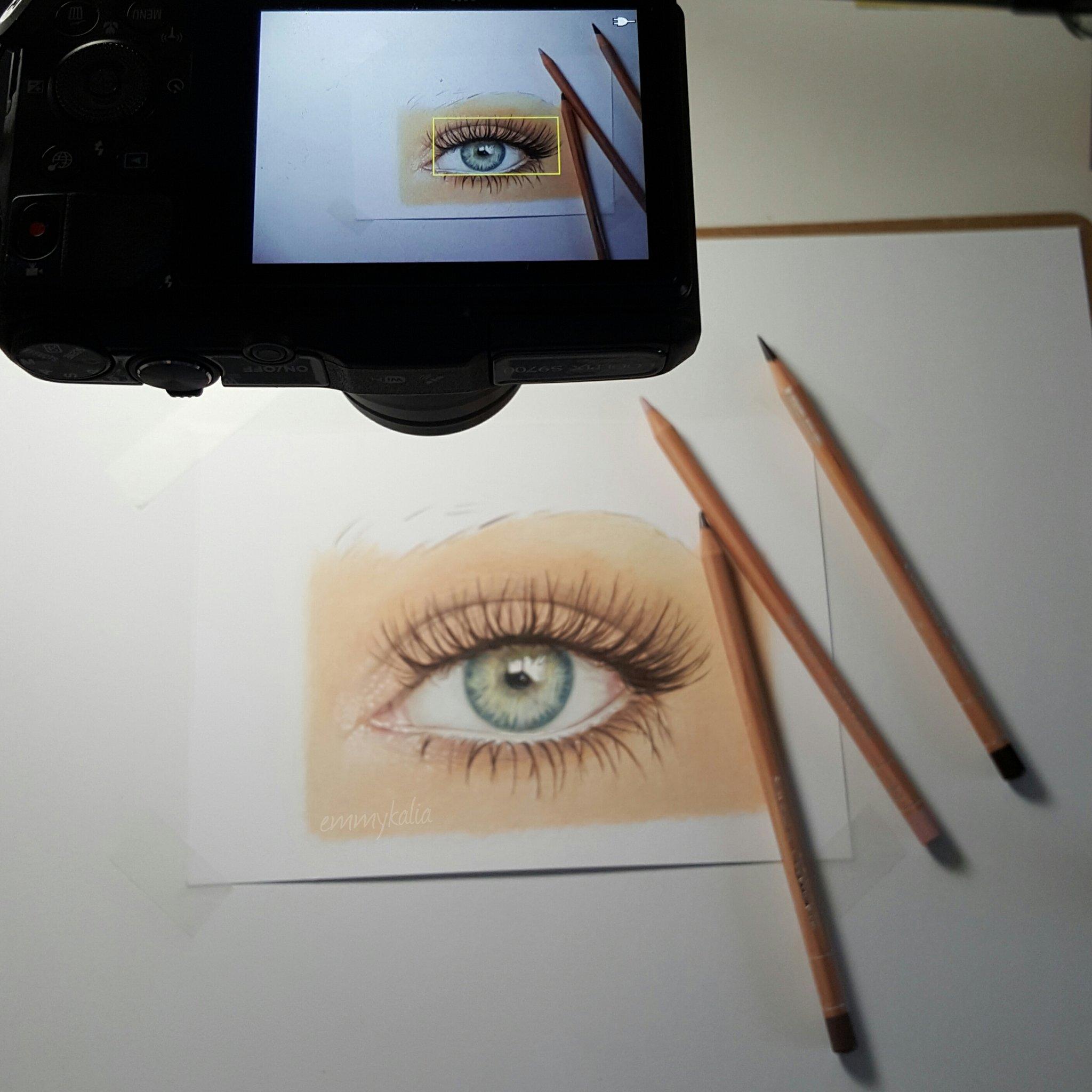"Emmy Kalia on Twitter: ""Filming my drawing process! # ... Emmy Kalia"