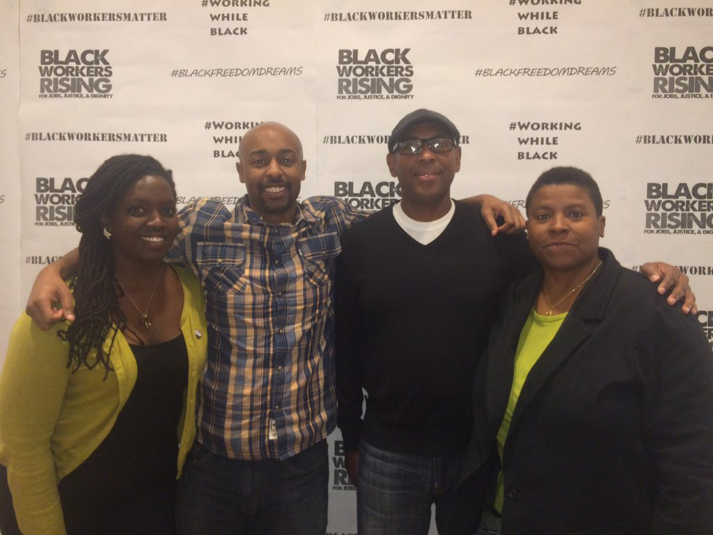 Building power at the National Black Workers Center convening #BlackWorkersMatter #BlackFreedomDreams https://t.co/9yuIoIaLzL