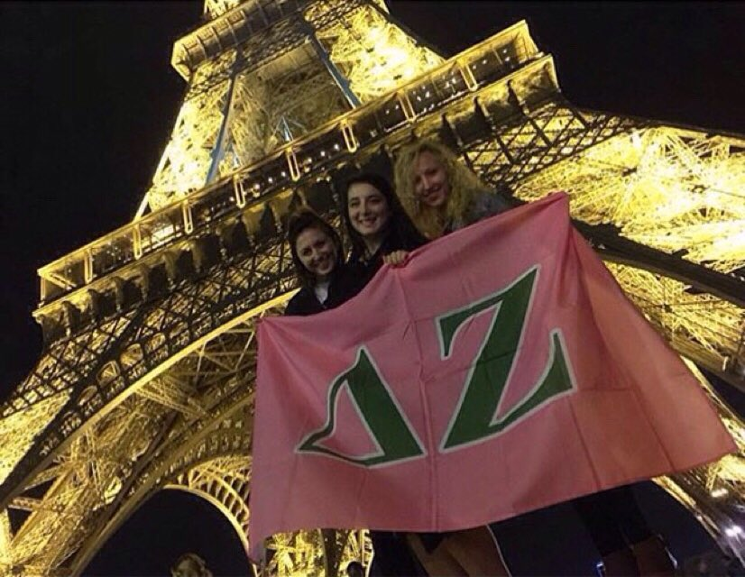 Delta Zeta's thoughts are with the people of Paris. To the world, I promise temperance, insight and courage... https://t.co/lofVIF3rZN