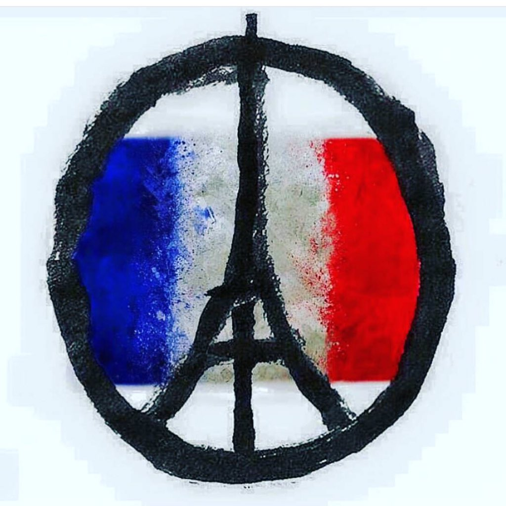 Sending love &prayers to the victims, their families and everyone's whose lives changed forever. #prayersforparis https://t.co/y4gW85GqDi