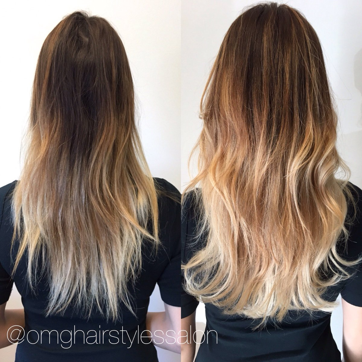 Omghairstylessalon On Twitter Hair Magic Created With An Ombr