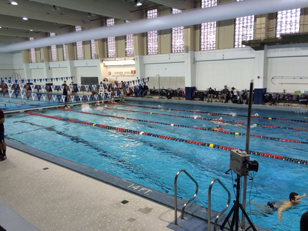 Penn Swimming On Twitter Nova Is In The House Today As Both The Men 39 S And Women 39 S Squads Are