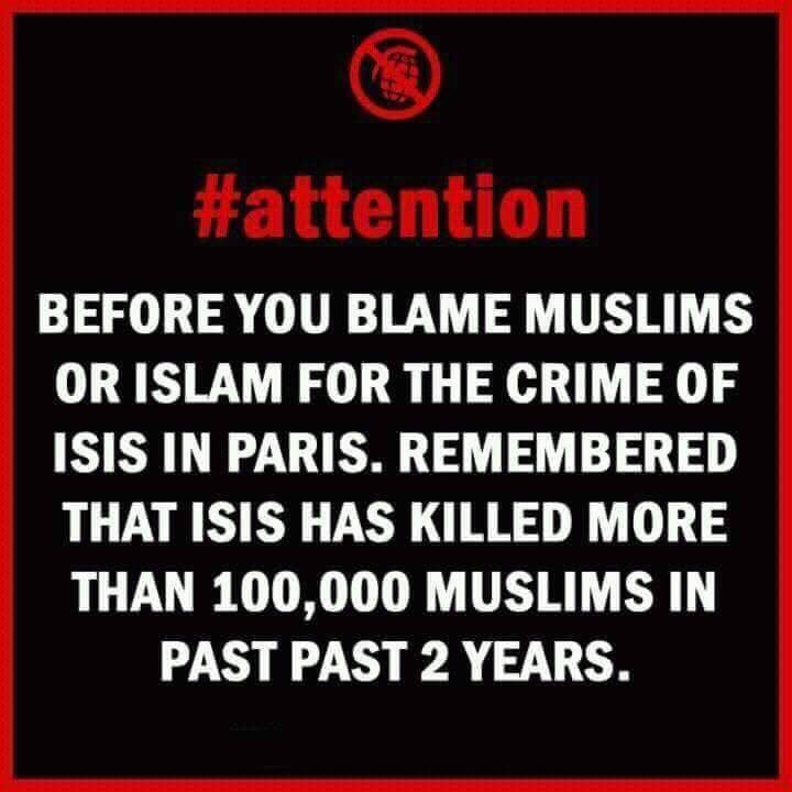 We've common enemy. #Muslims hate #ISIS more then you can imagine. https://t.co/iVFkZv0T2z