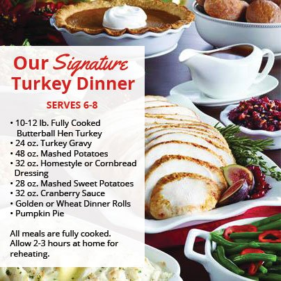 jewel osco on twitter order our signature turkey dinner visit the
