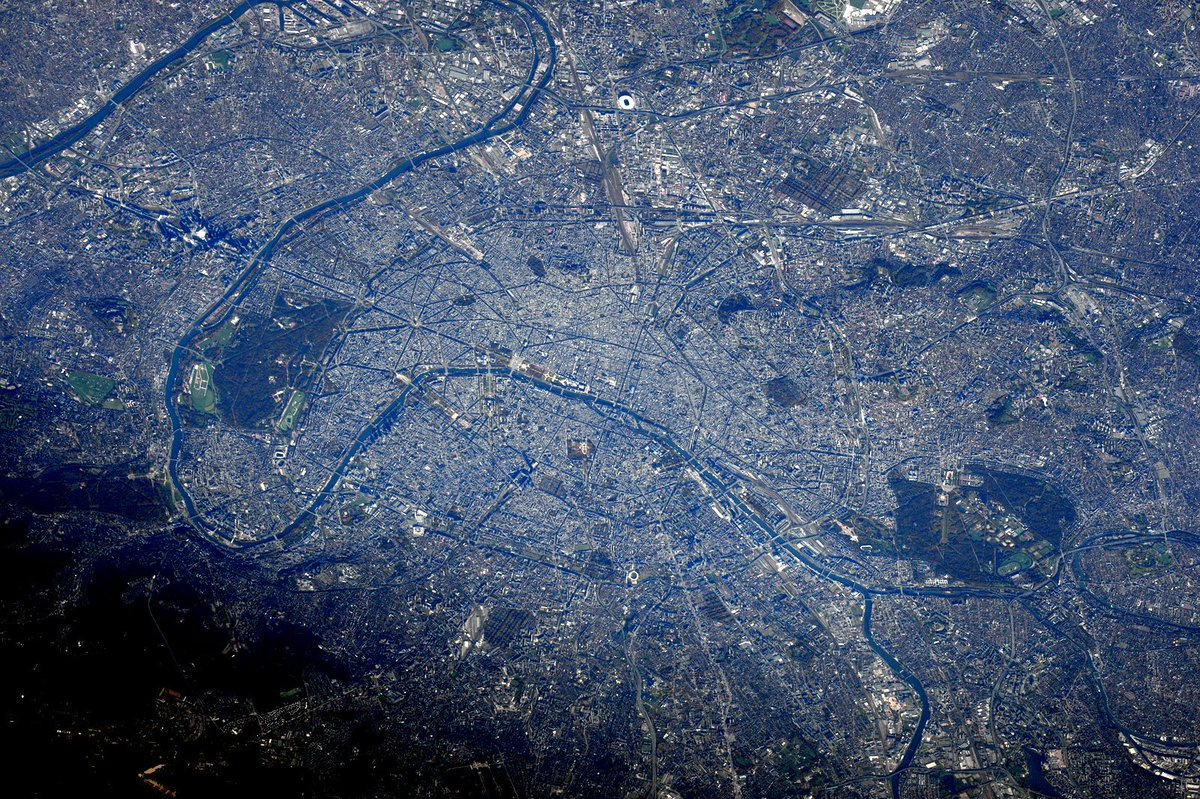 Shocked & saddened by terrorist attacks on #Paris Standing with #France from @space_station. Our thoughts are w you.