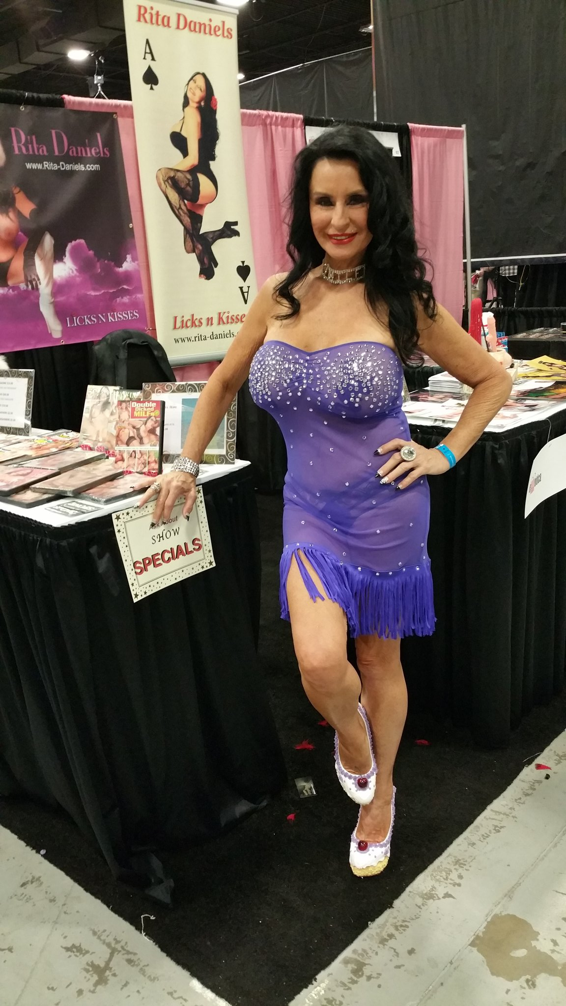 """Rita Daniels on Twitter: """"Here we are day 2 of @EXXXOTICA ..."""