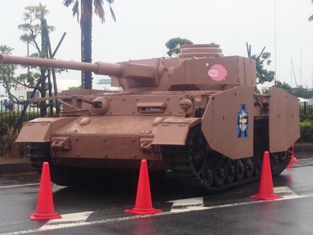 さすが大洗だ!数年でこんなに戦車が揃うとは! pic.twitter.com/ANnP09uFT1