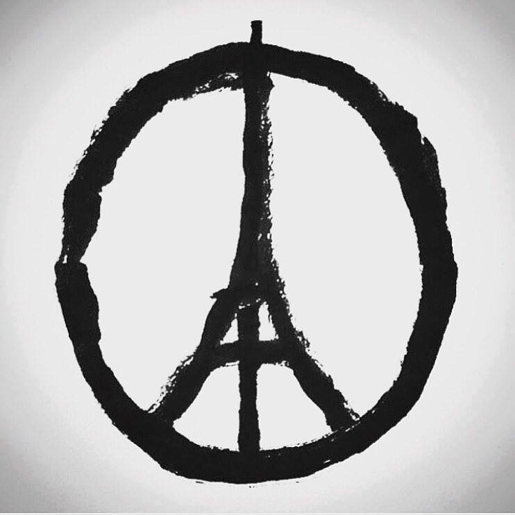 No words. Sending our love to #Paris and #Beirut https://t.co/HEhNWGiObm