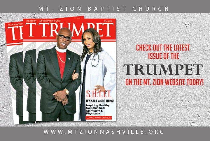 Check out the edition of our publication Trumpet Magazine w/ @JosephWalker3 & @DrStephWalker https://t.co/5HMsSjPiW6 https://t.co/AGQxhh0cwd