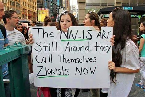 Image result for zionists are the Nazis