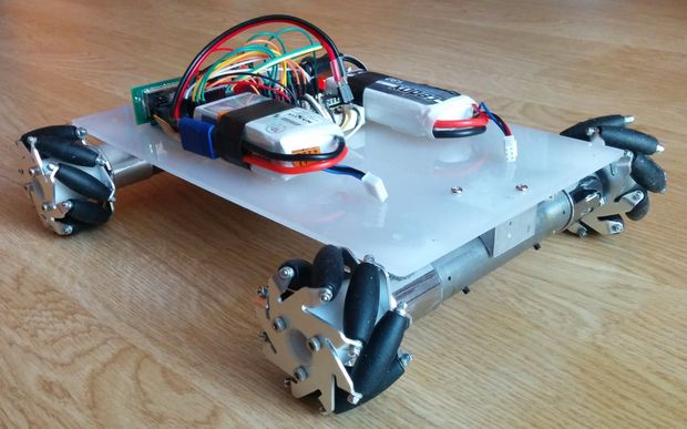 Arduino Kinematics library for differential drive2WD