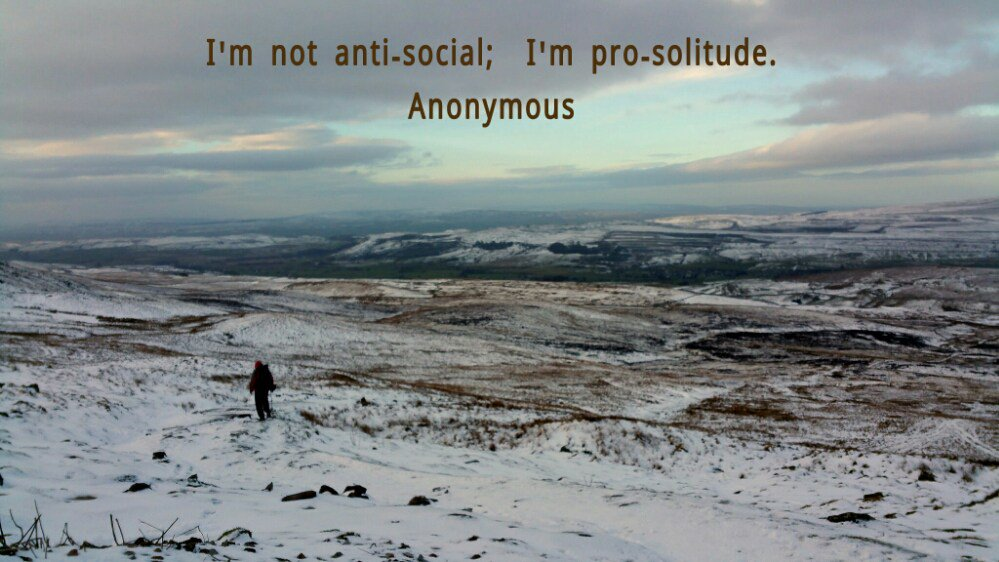 Loneliness and the Joy of Solitude: Thoughts of a Solo Backpacker. https://t.co/wlwI9fYYw9 https://t.co/4JpnLaskSf