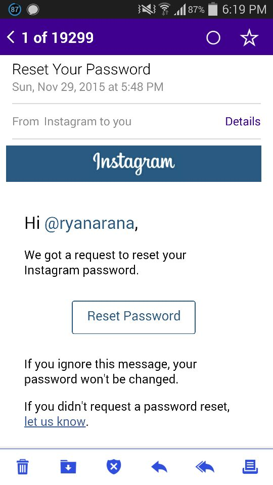 Ryan Araña On Twitter Someone Is Trying To Hack My Instagram