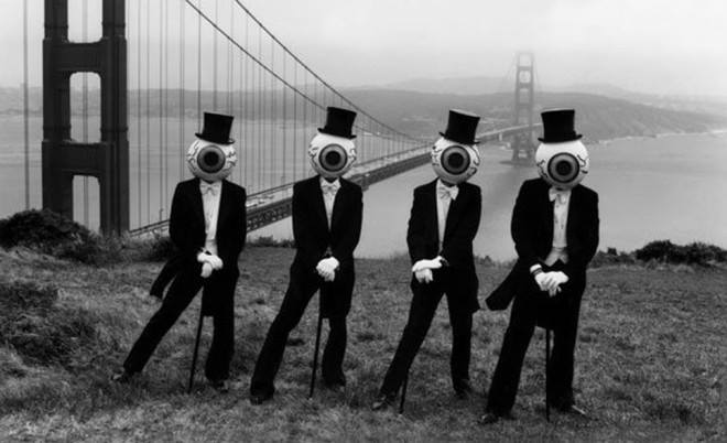 THEORY OF OBSCURITY looks at the surreal & enigmatic world of THE RESIDENTS. Wed 2 Dec, 9pm. https://t.co/P53jWeq8dH https://t.co/5swjWZvdFs