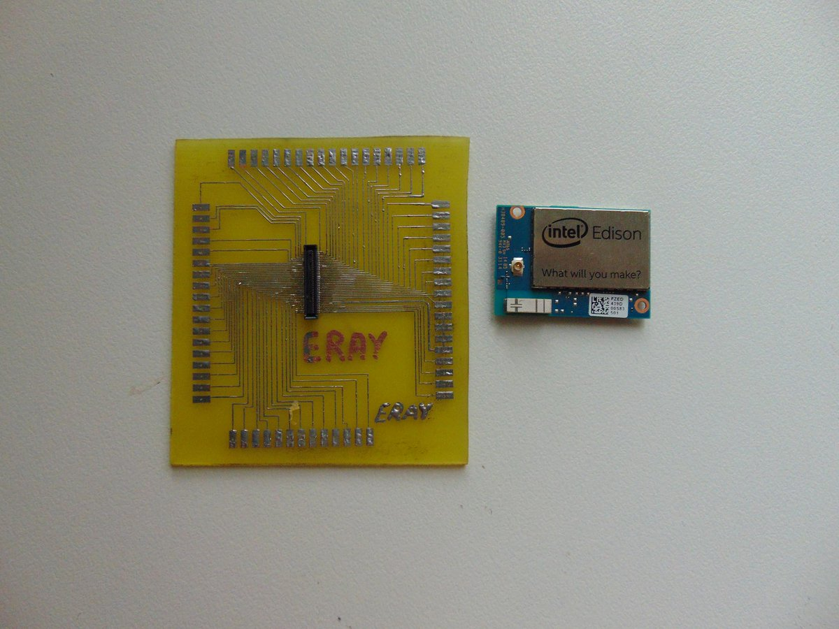 Eray Aktokluk On Twitter I Made My Intel Edison Work Cardit Is Small Projects Of Electronics Card For Projectsintel Intelturkiye Https Tco 1fjephlzdb